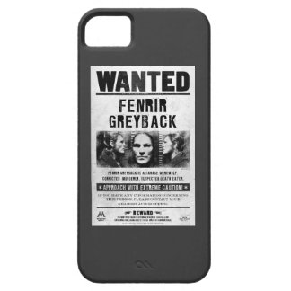 Fenrir Greyback Wanted Poster iPhone SE/5/5s Case