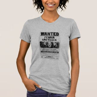 Fenrir Greyback Wanted Poster Shirt