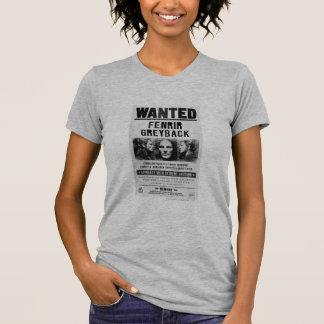 Fenrir Greyback Wanted Poster Tshirts