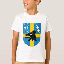 Fenrir Runes Crest T-Shirt