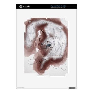 Fenrir Snow Skin For iPad 2