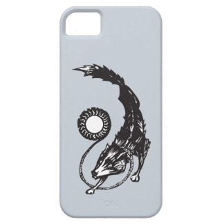 Fenris The Norse Wolf iPhone 5 Covers