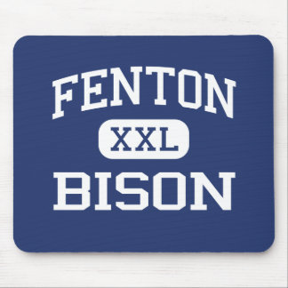 Fenton - Bison - High - Bensenville Illinois Mouse Pad
