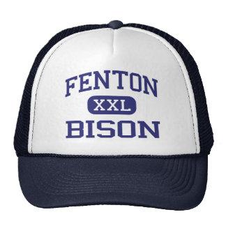 Fenton - bisonte - alto - Bensenville Illinois Gorro