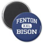 Fenton - bisonte - alto - Bensenville Illinois Imanes
