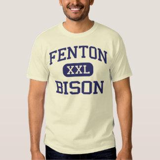 Fenton - bisonte - alto - Bensenville Illinois Poleras