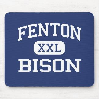 Fenton - bisonte - alto - Bensenville Illinois Tapetes De Ratón
