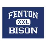 Fenton - bisonte - alto - Bensenville Illinois Postal
