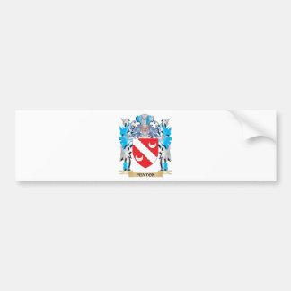Fenton Coat of Arms - Family Crest Car Bumper Sticker
