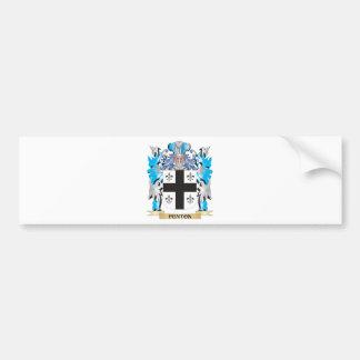 Fenton- Coat of Arms - Family Crest Car Bumper Sticker