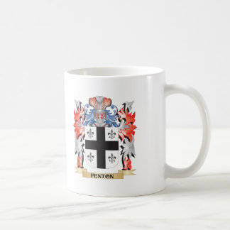 Fenton- Coat of Arms - Family Crest Coffee Mug