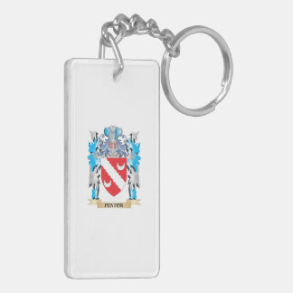 Fenton Coat of Arms - Family Crest Double-Sided Rectangular Acrylic Keychain