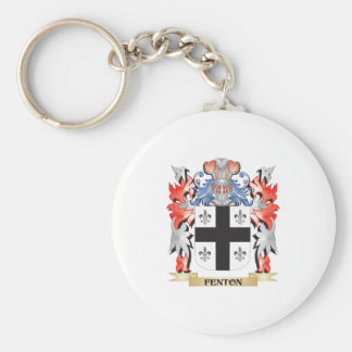 Fenton- Coat of Arms - Family Crest Keychain