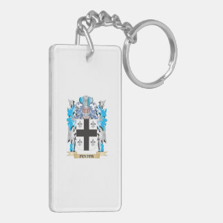 Fenton- Coat of Arms - Family Crest Double-Sided Rectangular Acrylic Keychain