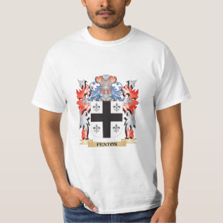 Fenton- Coat of Arms - Family Crest T-Shirt