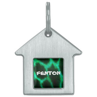 Fenton customizable pet tag