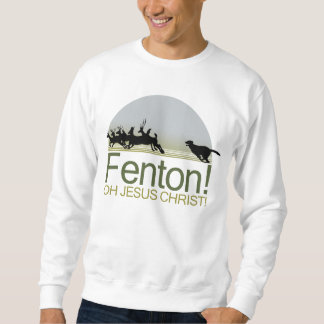 ¡Fenton! el perro que persigue ciervos en el Sudadera