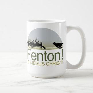 ¡Fenton! el perro que persigue ciervos en el Taza De Café