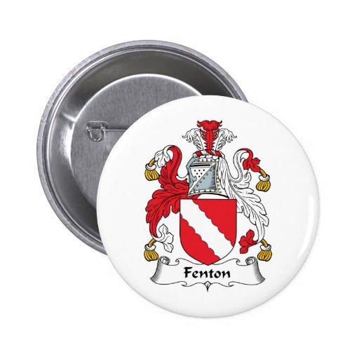 Fenton Family Crest 2 Inch Round Button