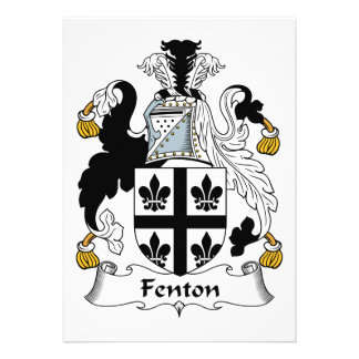 Fenton Family Crest Cards