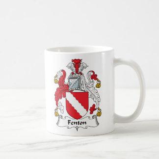 Fenton Family Crest Coffee Mug
