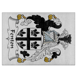 Fenton Family Crest Cutting Boards