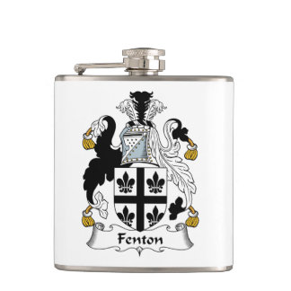 Fenton Family Crest Hip Flask