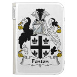 Fenton Family Crest Kindle Covers