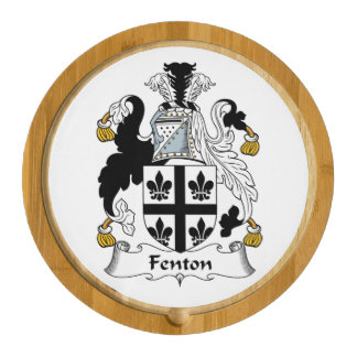 Fenton Family Crest Round Cheese Board