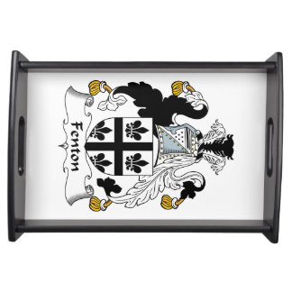Fenton Family Crest Serving Tray