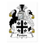 Fenton Family Crest Postcard
