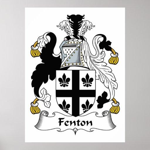 Fenton Family Crest Print