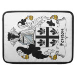 Fenton Family Crest Sleeve For MacBook Pro