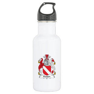 Fenton Family Crest Stainless Steel Water Bottle