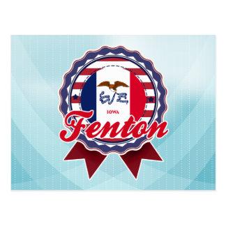 Fenton, IA Tarjetas Postales
