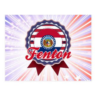 Fenton, MES Tarjeta Postal