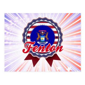 Fenton, MI Tarjetas Postales
