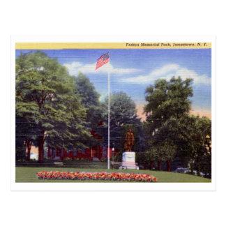 Fenton Park, Jamestown, New York Vintage Postcard