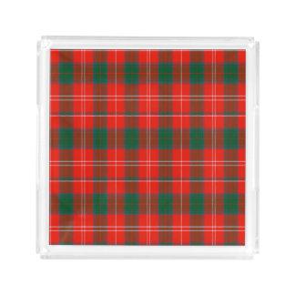 Fenton Scottish Tartan Square Serving Trays