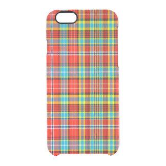 Fenton Scottish Tartan Clear iPhone 6/6S Case