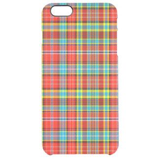 Fenton Scottish Tartan Clear iPhone 6 Plus Case