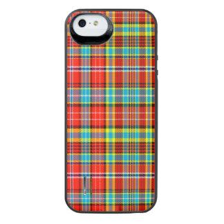 Fenton Scottish Tartan iPhone SE/5/5s Battery Case