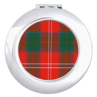 Fenton Scottish Tartan Makeup Mirrors