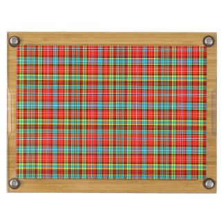 Fenton Scottish Tartan Rectangular Cheese Board