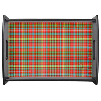 Fenton Scottish Tartan Service Trays