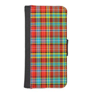 Fenton Scottish Tartan iPhone 5 Wallet Cases