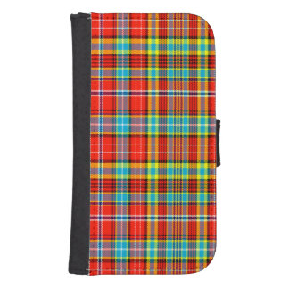 Fenton Scottish Tartan Phone Wallet