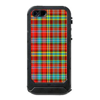 Fenton Scottish Tartan Waterproof Case For iPhone SE/5/5s