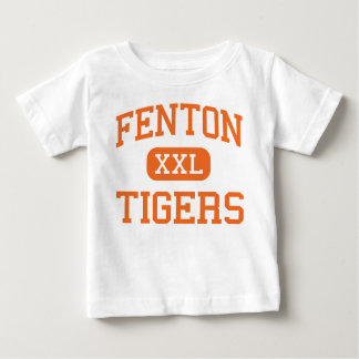 Fenton - tigres - High School secundaria - Fenton Camisas