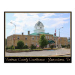Fentress County Courthouse - Jamestown, TN Post Card